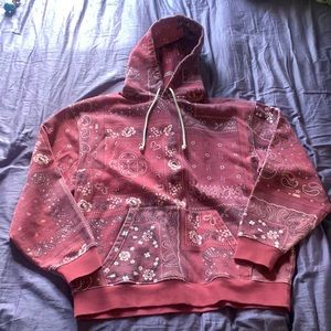 KITH deconstructed bandana sweatsuit
